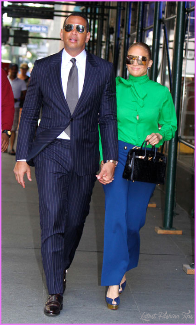 Jennifer Lopez and Alex Rodriguez show off their street style in NYC