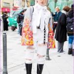 M.Y.O.B. NYC Staffer in Vintage Harajuku Street Style w/ Tender ...