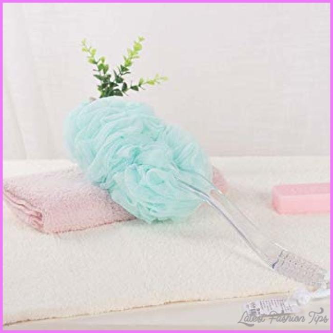 Amazon.com : ZXQZ Long Handle Bath Brush, Long Handle Multi-color ...