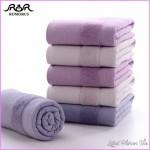 ROMORUS 35x75cm Face Towel Skin friendly Cotton Bath Beach Towels ...