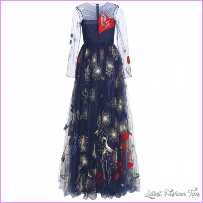 mytheresa.com - Embroidered evening gown - Gowns - Dresses ...