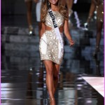 Top 15 contestant Miss Australia 2015, Monika Radulovic, walks ...