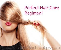your daily hair care routine2