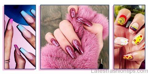 celebrity nail designs 20198